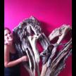 Driftwood hearts, 120cm x 90cm