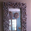 Driftwood Mirror, distressed, 140cm x 60cm