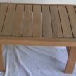 Balau Exterior side table, 60cm x 40cm