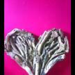 Driftwood medium hearts 40cm