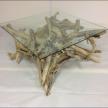 Driftwood Coffee Table 82cm x 82cm x 40cm