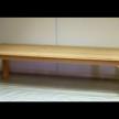 12 Seater Beech Dining Table 300cm x 120cm x 75cm