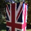 British Wardrobe 205cm x 90cm x 55cm