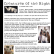 Creatures Of The Night June 2013.