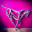 Driftwood Horse, hanging art. 180cm NEW